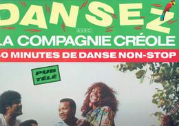 Dansez Avec La Compagnie Créole (40 Minutes De Danse Non-stop) (Carrère 1989) - Disco, Pop