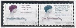 LIECHTENSTEIN N° 1065/66 ** - EUROPA : Les Femmes Célèbres (1996) Cote 4 € - 1996