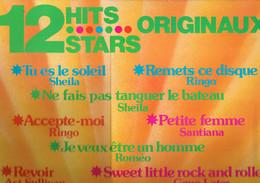 12 Hits Stars Originaux (Sheila, Ringo, Santiana, Art Sullivan, Ch. Delagrange, Mary Cristy, Roméo) (Carrère) - Disco, Pop