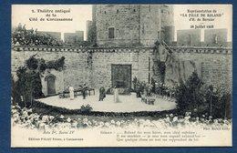 France - Carte Postale - Carcassonne - Théatre Antique De La Cité De Carcassonne - Burgraves - Carcassonne