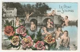 Bébés -  Le Pont Des Soupirs (pont De Limay) - Babies