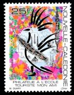 NOUV.-CALEDONIE 1993 - Yv. 637 **  Philatélie à L'école. Cagou Stylisé  ..Réf.NCE25354 - Nieuw-Caledonië