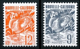 NOUV.-CALEDONIE 1992 - Yv. 634 Et 635 **  Le Cagou 9f Et 12f (2 Val.)  ..Réf.NCE25348 - Nieuw-Caledonië