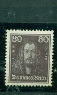 Deutsches Reich Dürer Nr. 397 Falz * - Germania