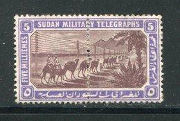 SOUDAN- Télégraphe Y&T N°10- Neuf Sans Gomme - Soudan (...-1951)