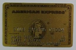 USA - Credit Card - American Express - Bankers Trust Co New York - Exp 03/84 - Geldkarten (Ablauf Min. 10 Jahre)