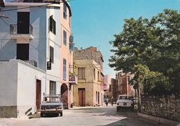 MAMOIADA - NUORO - CORSO VITTORIO EMANUELE - INSEGNA PUBBLICITARIA BIRRA - AUTO - TABACCHERIA - 1970 - Nuoro