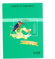 Guinée Bisssau 1992-Martin Pécheur, Barque- YT B75***MNH - Guinea-Bissau