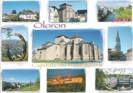 64 - Oloron Sainte-Marie - Capitale Du Haut Béarn - Multi Vues 9 Vues - Cpm - Vierge - - Oloron Sainte Marie