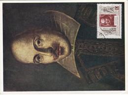 Carte Maximum Littérature Shakespeare Russie - 1923-1991 URSS