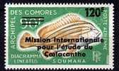 Comores P.A. N° 52 XX  Mission Internationale Pour L'étude Du Coelacanthe Sans Charnière, TB - Isla Comoro (1950-1975)