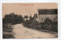 - CPA TART-L'ABBAYE (21) - L'Église 1910 (avec Personnages) - - Francia