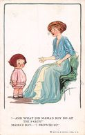 And Wath Did Mama's Boy Do At The Party ? Mama's Boy - I Frowed Up - Enfant - Mère - - Illustrateurs & Photographes