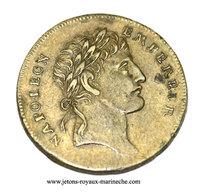PREMIER EMPIRE. Napoléon Empereur Le Couronnement 1804. F. 13749E.  Laiton 24 Mm 4.30 Gr. R 2. - Adel
