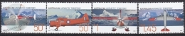 Australian Antartic Territory 2005 Yvert 161-64, Aviation, Airplanes - MNH - Territorio Antártico Australiano (AAT)