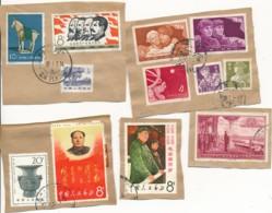 China – Stamps On Fragment - Gebruikt