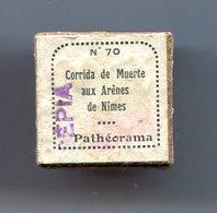 PATHEORAMA Bobine Film Fixe Corrida De Muerte Aux Arènes De Nîmes - Bobines De Films: 35mm - 16mm - 9,5+8+S8mm
