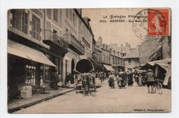 - CPA QUINTIN (22) - Rue Belle-Etoile 1913 (belle Animation) - Collection Waron 9552 - - Quintin