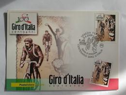 Italia Fdc Maximum Card E Busta 2009 Giro D'Italia - Cartes-Maximum (CM)