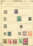 Collection Honduras   Sur Feuilles - Stamps