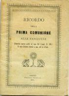 LIB 46 - RICORDO DELLA PRIMA COMUNIONE ALLE FANCIULLE - 1891 - 32 PAGINE +COPERTINA - Religione & Esoterismo