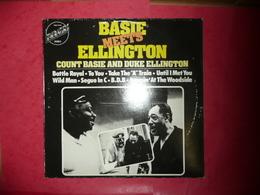 LP33 N°560 - BASIE MEETS ELLINGTON - COMPILATION 8 TITRES - Jazz