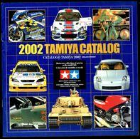 """Catalogue De Modélisme """"TAMIYA"""" - Année 2002. - Littérature & DVD"""