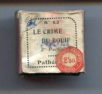 PATHEORAMA Bobine Film Fixe Le Crime Du Bouif Parties 1 Et 2 - Pellicole Cinematografiche: 35mm-16mm-9,5+8+S8mm