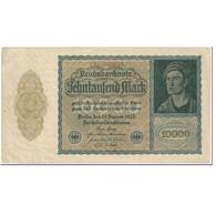 Billet, Allemagne, 10,000 Mark, 1922, 1922-01-19, KM:72, TB - [ 3] 1918-1933: Weimarrepubliek