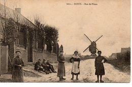 Roeux: Rue De Flines (moulin à Vent) - Autres Communes