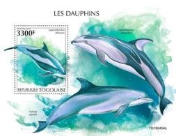 Togo 2019 Fauna  Dolphins  S201911 - Togo (1960-...)