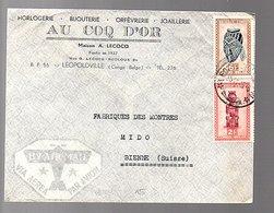 Au COQ D'Or Horlogerie Bijouterie Orfèvrerie Joaillerie A. Lecocq–Recloux (613) - 1923-44: Briefe U. Dokumente