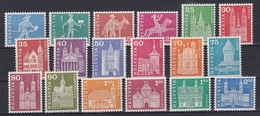 SVIZZERA Xx  1960     MI  696-713   -  Postfrisch   -   VEDI FOTO ! - Unused Stamps