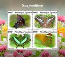 Togo 2019 Fauna  Butterflies  S201911 - Togo (1960-...)