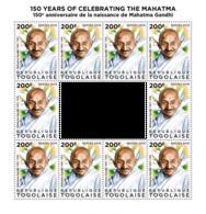 Togo. 2019 Mahatma Gandhi. (0512c)  OFFICIAL ISSUE - Mahatma Gandhi
