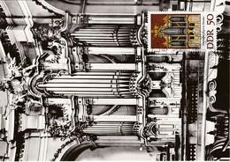 Carte Maximum Musique Allemagne DDR RDA Orgue - [6] République Démocratique