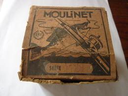 Moulinet P.M. Avec Boite - Pêche