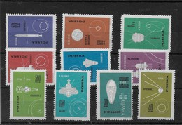 Serie De Polonia Nº Yvert 1301/11 ** ASTROFILATELIA - Nuevos