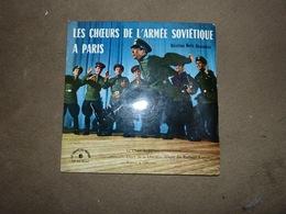 Disque 45T Les Choeurs De L'armée Soviétique à Paris 1960 URSS - Wereldmuziek