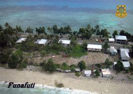 1 AK Tuvalu * Atoll Funafuti, Welches Zugleich Die Hauptstadt Des Pazifischen Inselstaats Tuvalu Ist - Luftbildaufnahme - Tuvalu