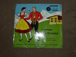 Disque 45T Greetings From Kitzbühel Mastertone Toni Praxmair And His Kitzbühler Yodellers - Wereldmuziek