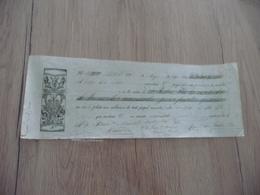 Chèque Reçu Mandat 1821  Illustré Espagne Espana - Espagne