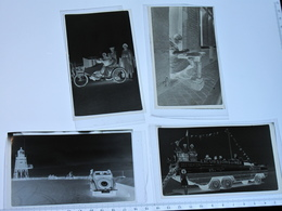 MER DU NORD - 4 NEGATIFS PHOTOS -  Circa Annees 30 - 6,5/11cm - Photographica