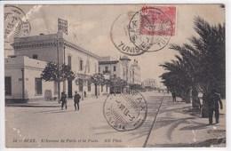 TUNISIE SFAX L'avenue De Paris Et La Poste - Tunisie