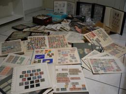 DEUTSCHLAND ALLEMAGNE - Enorme Lot (+ 20kg) - Collections En Album + Vrac - Toutes Périodes - 345 Photos - Départ 1 Euro - Sammlungen (im Alben)