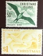 Christmas Island 1963 Definitives Birds From Set MNH - Birds