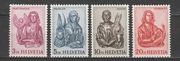SVIZZERA Xx  1961     MI  738-41   -   Postfrisch    -   VEDI FOTO ! - Unused Stamps