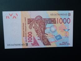 BÉNIN : 1000 FRANCS   (20)05   P 215Bc     NEUF - Benin