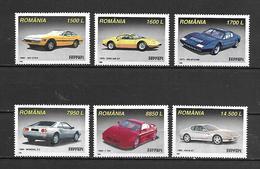Romania 1999 Cars - Ferrari MNH (D0692) - Voitures
