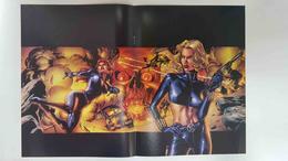 Poster Doble: Lektra (Greg Horn) - Viuda Negra (J.G. Jones). Proviene De Marvel Poster Magazine Vol 1 Num 1, A... - Livres, BD, Revues